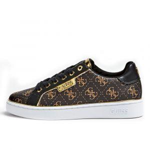 Scarpe Donna GUESS Sneakers Marroni Linea Banq