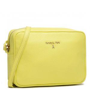 Borsa Donna a Tracolla PATRIZIA PEPE in Pelle colore Spring Yellow 2V8985