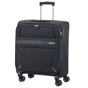 Trolley Cabina Semirigido 55cm 4 Ruote 2,6kg - American Tourister Summer Voyager Volt Black