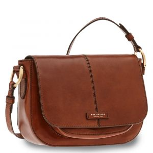 Borsa Donna a Tracolla THE BRIDGE in Pelle Marrone linea Faentina