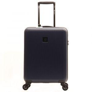 Trolley Cabina 55cm 4 Ruote Leggero 2,6kg - Y Not? colore Blue Navy con USB