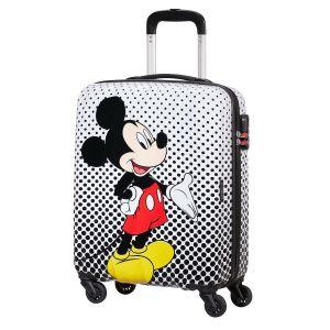 Trolley Cabina 55cm 4 Ruote Leggero 2,6kg - American Tourister Disney Mickey Alfatwist 2.0