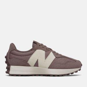 Scarpe Donna NEW BALANCE Sneakers 327 in Suede e Nylon colore Black Fig