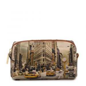 Beauty Medio con Zip Y NOT stampa New York Fifth Avenue YES-302