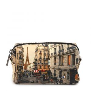Beauty Medio con Zip Y NOT stampa Paris Boheme YES-302