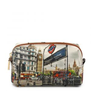 Beauty Grande con Zip Y NOT stampa London Westminster Tube YES-304