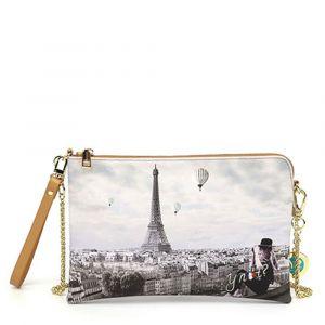 Borsa Donna Y NOT Pochette con Tracolla YES-303 Ciel De Paris