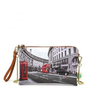 Borsa Donna Y NOT Pochette con Tracolla YES-303 London Regent Street
