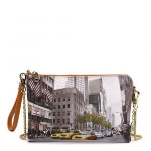 Borsa Donna Y NOT Pochette con Tracolla YES-303 New York Streets