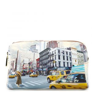 Beauty Grande con Zip Y NOT stampa NY Tower YES-304