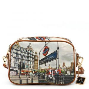 Borsa Donna Y NOT a Tracolla YES-310 London Westminster Tube