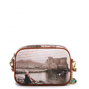 Borsa Donna Y NOT a Tracolla YES-310 Napoli Castel