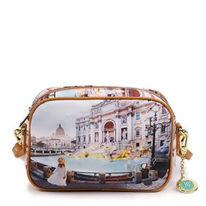 Borsa Donna Y NOT a Tracolla YES-310 Roma Trevi