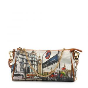 Borsa Donna Y NOT Pochette con Tracolla YES-313 London Westminster Tube