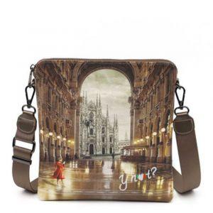 Borsa Donna Y NOT Bandoliera a Tracolla YES-314 Milano Gallery