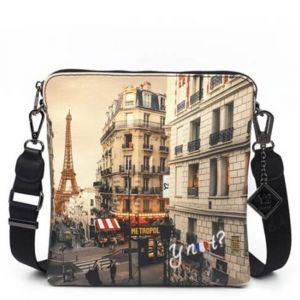 Borsa Donna Y NOT Bandoliera a Tracolla YES-314 Paris Boheme