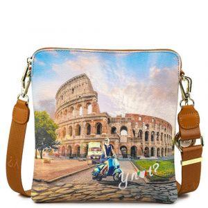 Borsa Donna Y NOT Bandoliera a Tracolla YES-314 Rome Vita