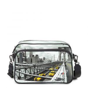 Borsa Donna a Tracolla Y NOT New York Brooklyn Bridge YES-331