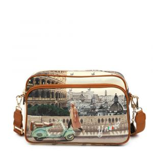 Borsa Donna a Tracolla Y NOT Walk in Rome YES-331