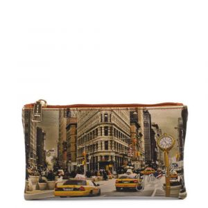 Bustina Pochette Y NOT Trousse con Zip YES-341 New York Fifth Avenue