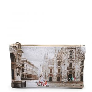 Bustina Pochette Y NOT Trousse con Zip YES-341 Milano Classic