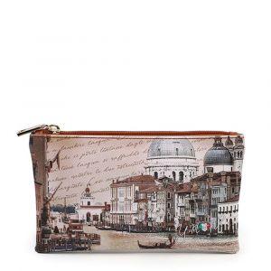 Bustina Pochette Y NOT Trousse con Zip YES-341 Venezia Canal Grande