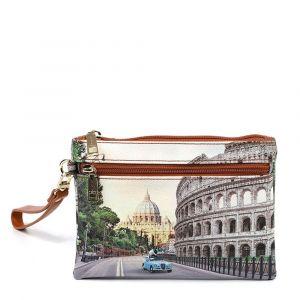 Pochette Donna con Zip Y NOT YES-342 Roma Aurelia