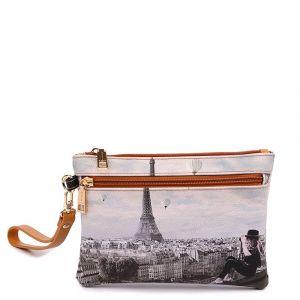 Pochette Donna con Zip Y NOT YES-342 Ciel De Paris