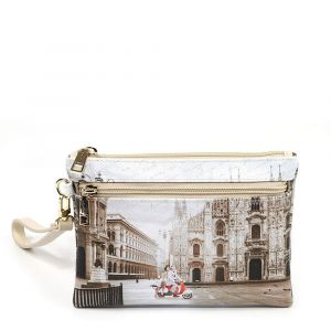 Pochette Donna con Zip Y NOT YES-342 Milano Classic