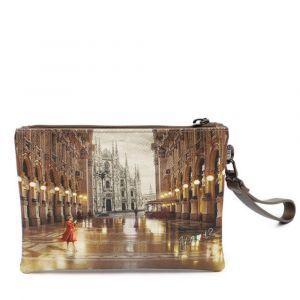 Pochette Donna con Zip Y NOT YES-342 Milano Gallery