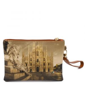 Pochette Donna con Zip Y NOT YES-342 Milano Lion