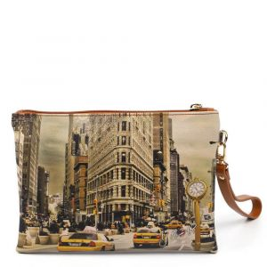 Pochette Media Donna con Zip Y NOT YES-343 New York Fifth Avenue