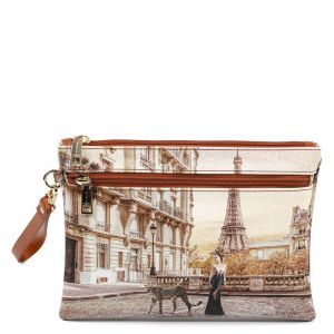 Pochette Media Donna con Zip Y NOT YES-343 Sauvage