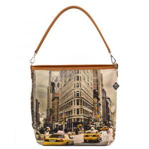 Borsa Donna Y NOT a Spalla con Tracolla YES-349 New York Fifth Avenue