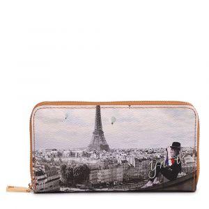 Portafoglio Donna Y NOT YES-361 Ciel De Paris - Chiusura Zip Around