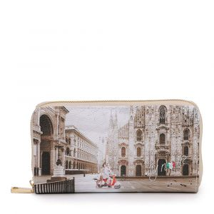 Portafoglio Donna Y NOT YES-361 Milano Classic- Chiusura Zip Around