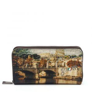 Portafoglio Donna Y NOT YES-361 Rome Santangelo- Chiusura Zip Around