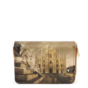 Portafoglio Compatto Donna Y NOT YES-362 Milano Lion