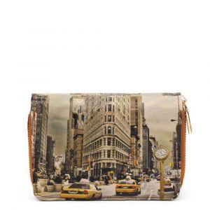 Portafoglio Compatto Donna Y NOT YES-362 New York Fifth Avenue