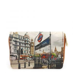 Portafoglio Compatto Donna Y NOT YES-362 London Westminster Tube