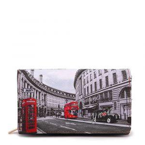 Portafoglio Donna con Bottone Y NOT YES-364 London Regent Street