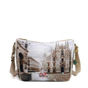 Borsa Donna Y NOT a Tracolla Regolabile linea YES-370 Milano Classic