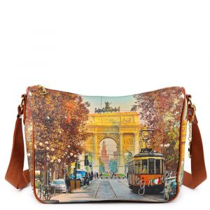 Borsa Donna Y NOT a Tracolla Regolabile linea YES-370 Milan Happy Hour