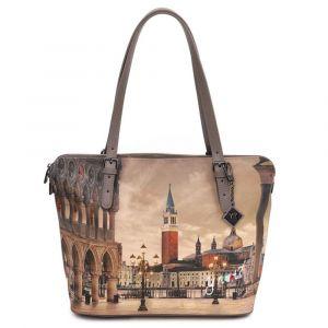 Borsa Donna Grande a Spalla Y NOT YES-377 Venezia San Marco