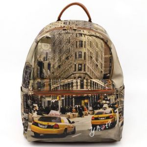 Zaino Donna Piccolo Y NOT con Tasca Esterna YES-380 New York Fifth Avenue
