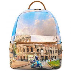 Zaino Donna Piccolo Y NOT con Tasca Esterna YES-380 Rome Vita