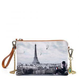 Borsa Donna Y NOT Pochette con Tracolla YES-384 Ciel De Paris