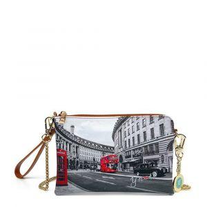 Borsa Donna Y NOT Pochette con Tracolla YES-384 London Regent Street