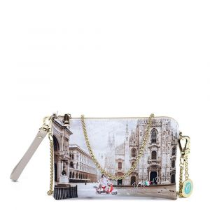Borsa Donna Y NOT Pochette con Tracolla YES-384 Milano Classic