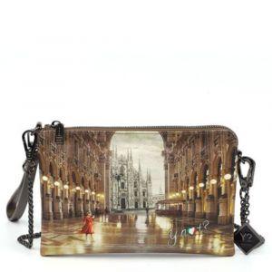 Borsa Donna Y NOT Pochette con Tracolla YES-384 Milano Gallery